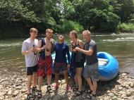 Post Whitewater Rafting